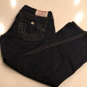 True religion plus size boot cut jeans